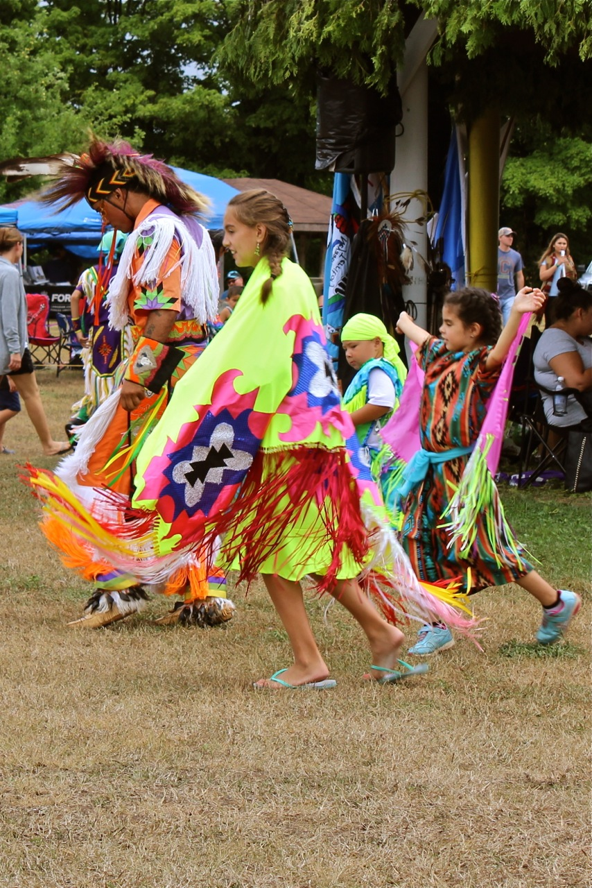 Pow-Wow Dancers, Courtesy of P. Zaks